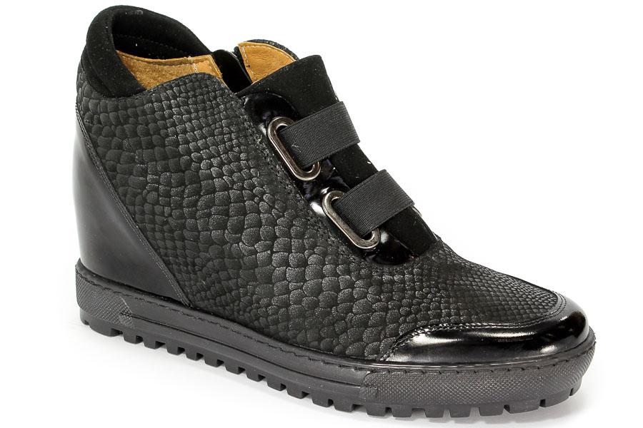 Sneakersy Eksbut 66-4297-B57/121/136 Czarny Lic