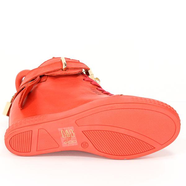 Sneakersy Carinii B3767-H54-000-PSK-B88 Czerwony