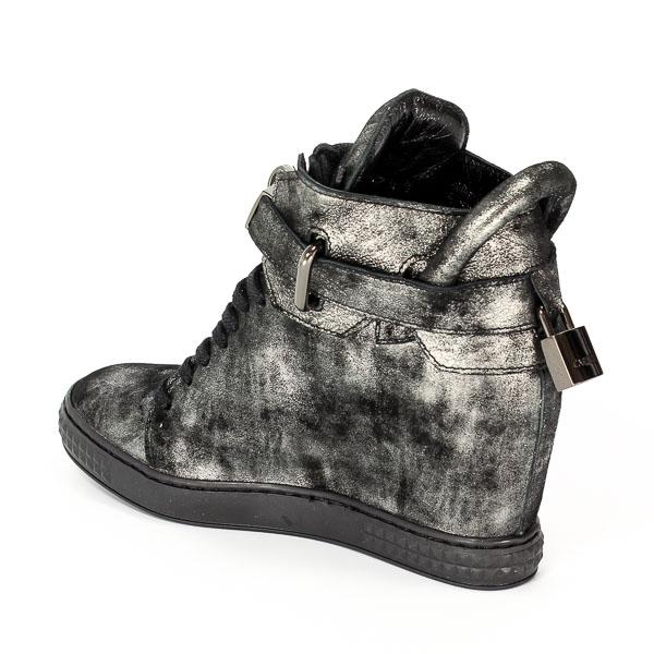 Sneakersy Carinii B3767/L23-000-PSK-B88 Czarny/Stalowy
