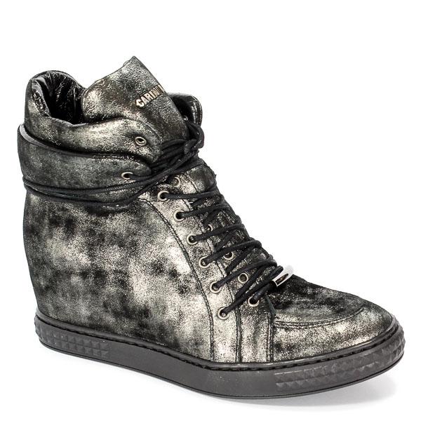 Sneakersy Carinii B3733-L23-000 PSK-B88 Nikiel