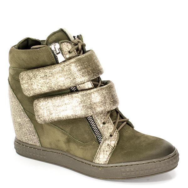 Sneakersy Carinii B3781/N-L43-000-PSK-B88 Zielony