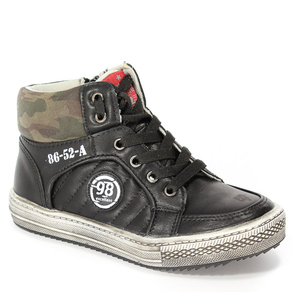 Trzewiki American B-G10097D-A1 Black/Black 32-36