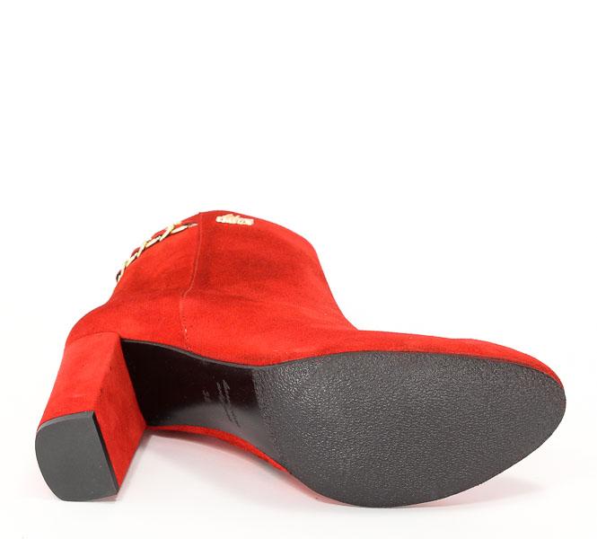 Botki Libero 8080/158 Czerwony