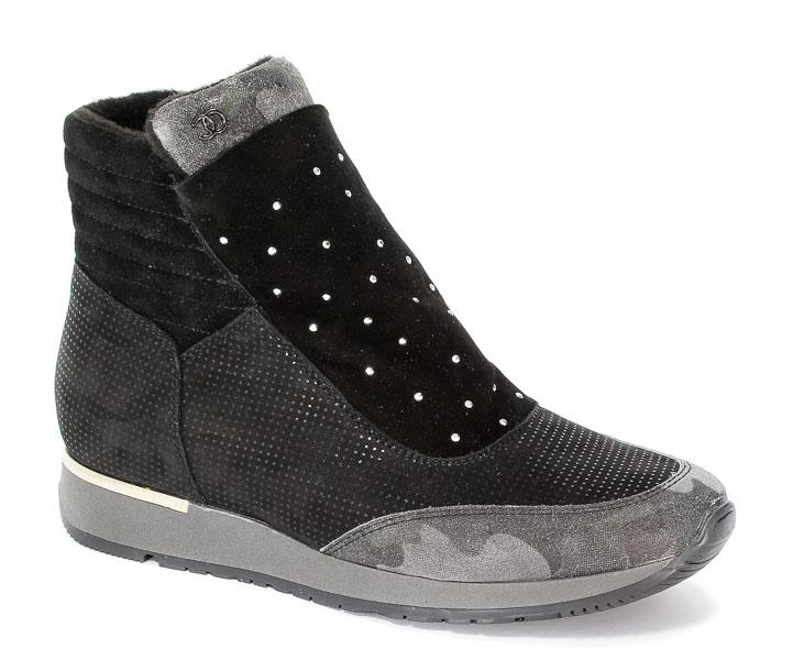 Sneakersy Simen 0366 W.Moro/S04 Nero