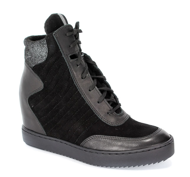 Sneakersy Simen 0363 Sandro 04/K.W.Nero