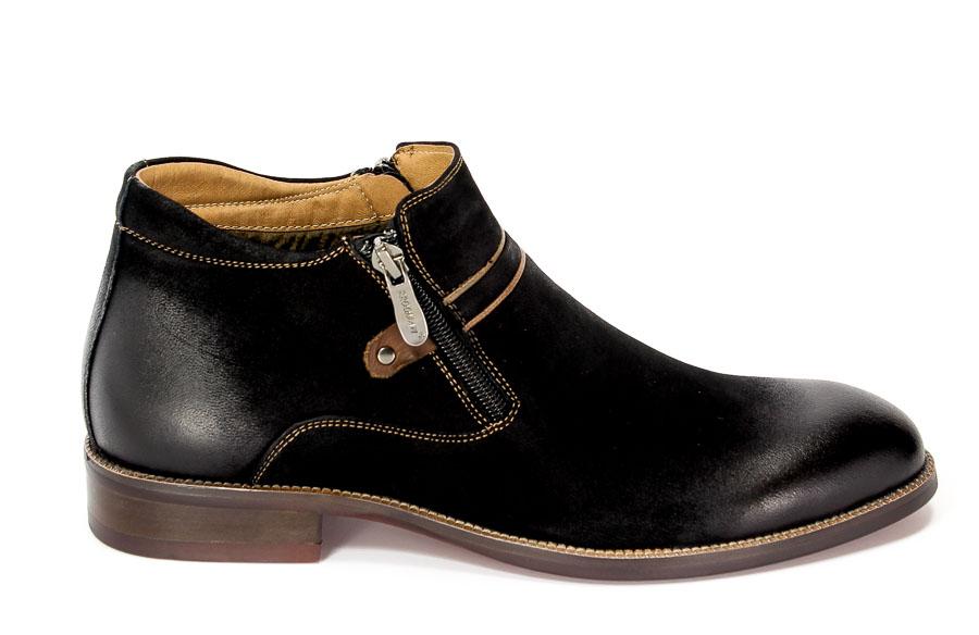 Trzewiki Brooman 7739B-702H642-R Black