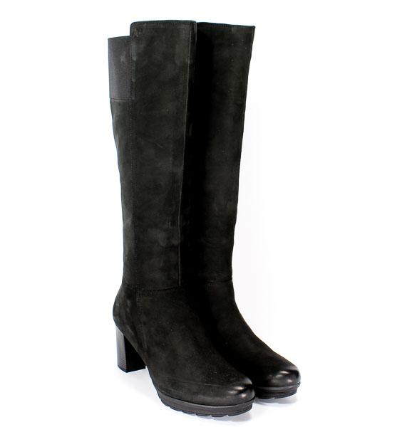 Kozaki Caprice 9-25650-27 008 Black Nubuc