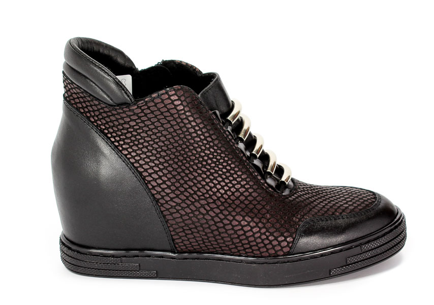 Sneakersy Korda 1638 Czarny+ LFTX