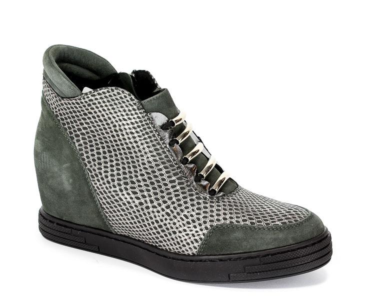 Sneakersy Korda 1638 Popiel-Wel+ ŁCBN