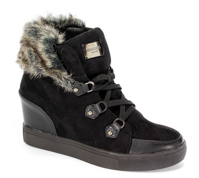 Sneakersy Monnari BUT0420-020 Czarny