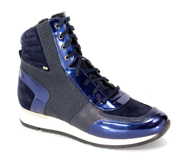 Sneakersy Nik 08-0395-002 Granatowy