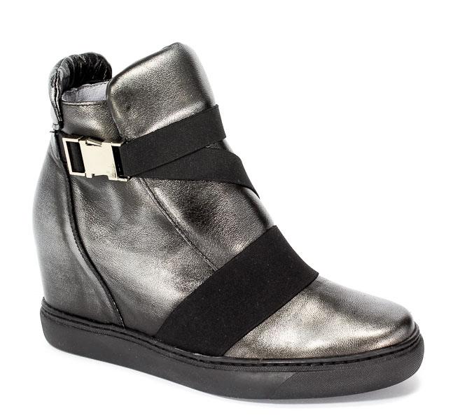 Sneakersy Eksbut 77-4492-E04 Czarny-Srebro Lic