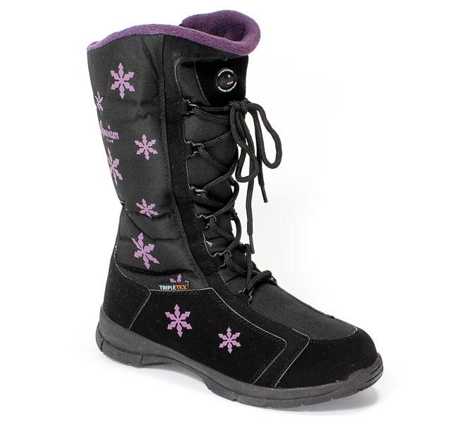 Śniegowce American 91SB917-3G Triple-Tex Dark- Purple.Prz