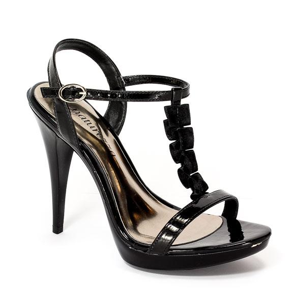 Sandały letnie Naturezza 2104265C Black.Prz
