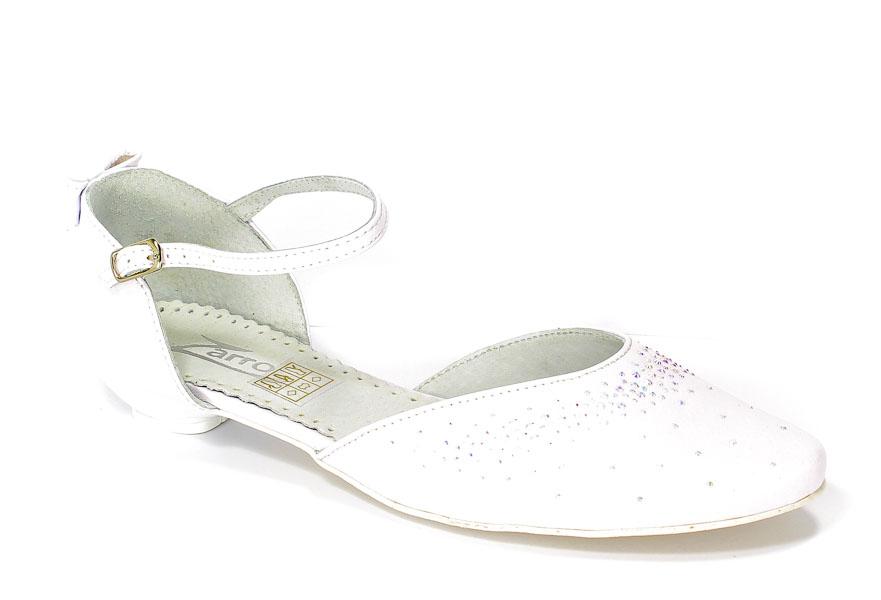 Baleriny Zarro 2354 Biały