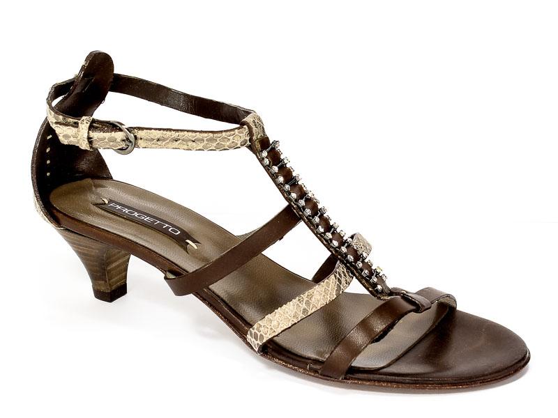 Sandały letnie Progetto R467 Meremma Tmor.Prz
