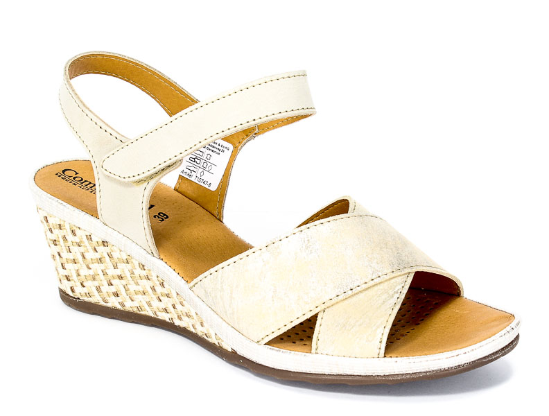 Sandały letnie Comfortabel 710747 Beige