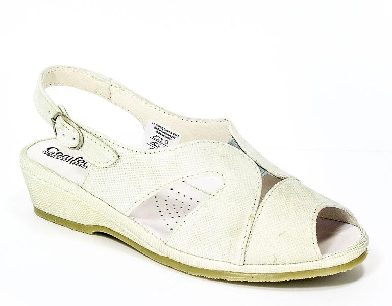 Sandały letnie Comfortabel 710819 Silver