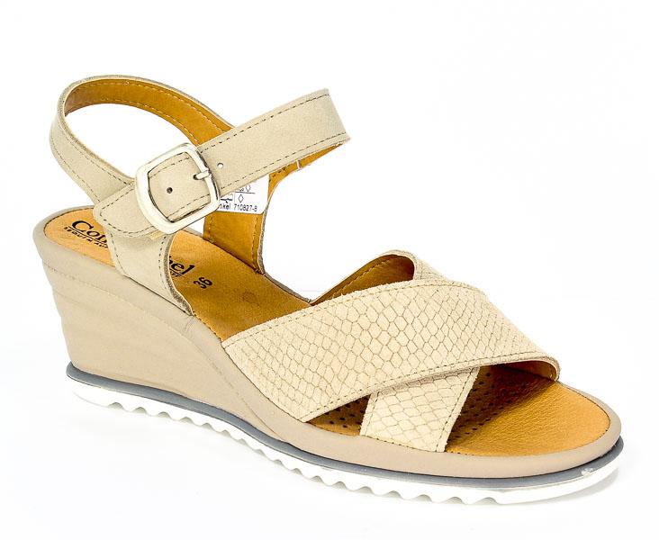 Sandały letnie Comfortabel 710827 Taupe