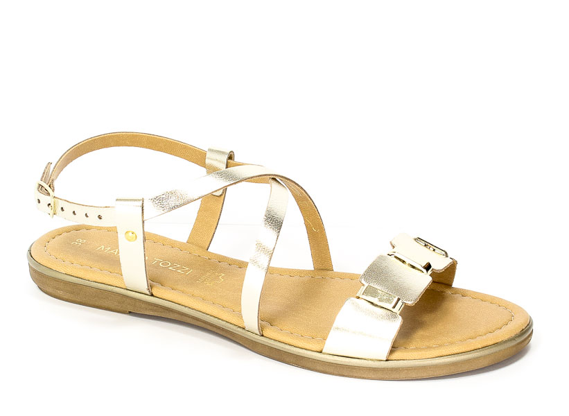 Sandały letnie Marco Tozzi 2-28141-28 957 Platinium