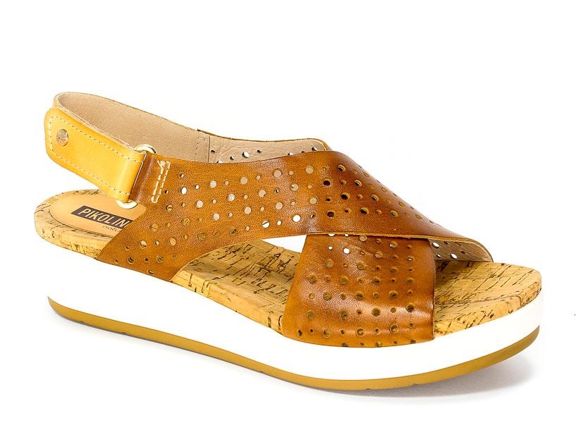 Sandały letnie Pikolinos W1G-0969 Brandy camel