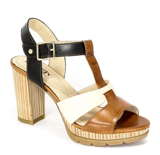 Sandały letnie Pikolinos W6K-0901 Brandy nata