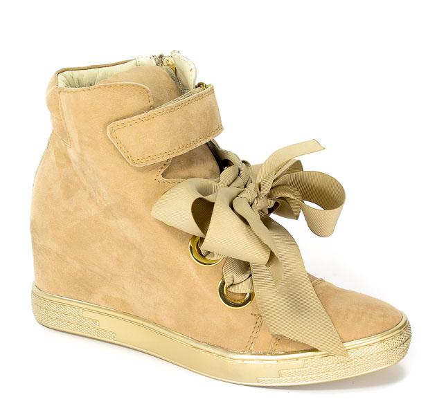 Sneakersy Marshall 6822 Z Capp-złoto