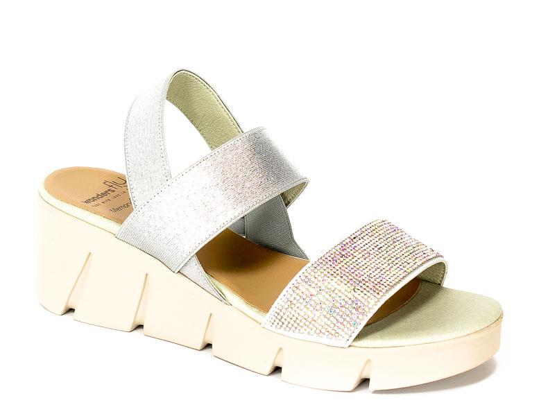 Sandały letnie Wonders D-8001 Piedra