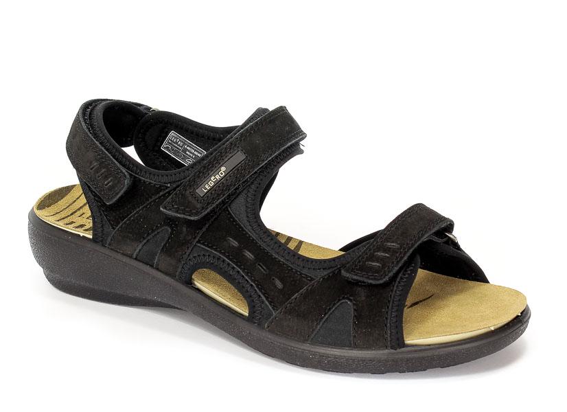 Sandały letnie Legero 8-00729-00 Schwarz
