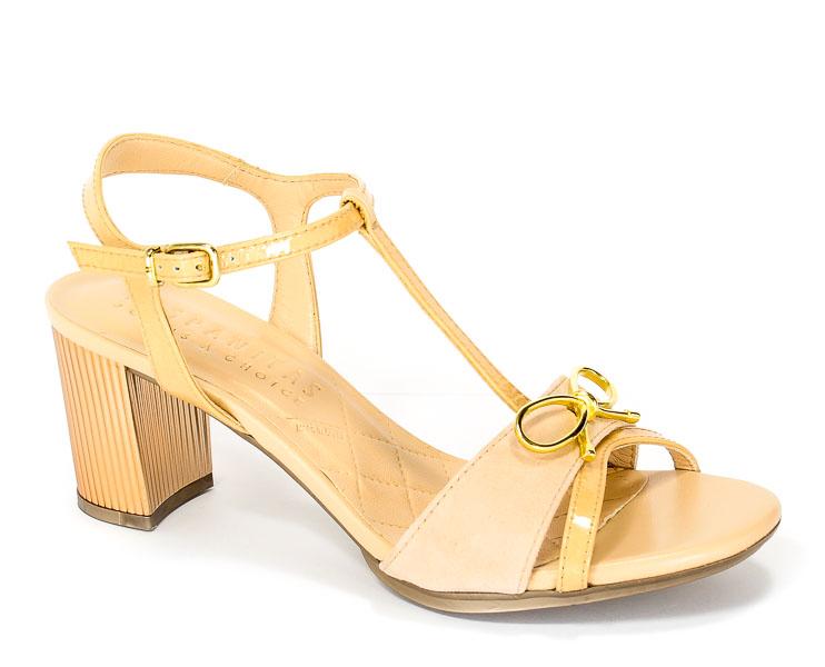 Sandały letnie Hispanitas HV75013 Kaffir-V7 Ecru