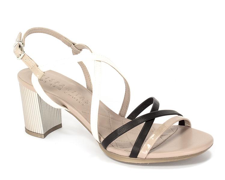 Sandały letnie Hispanitas CHV75010 Kaffir-V7 Nougat