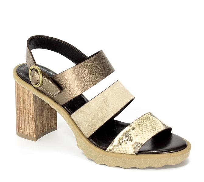 Sandały letnie Hispanitas HV74608 Nairobi V7 Natural