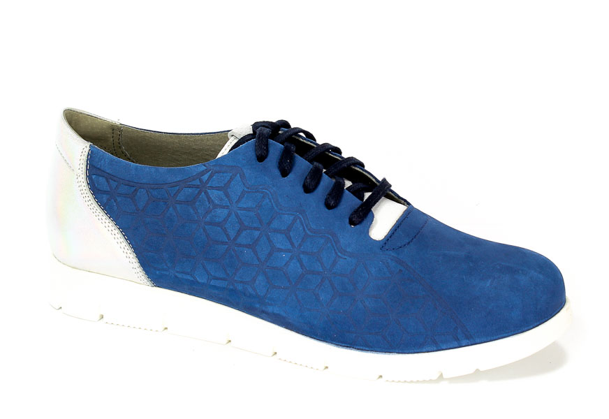 Półbuty Nik 05-0477-042 Niebieski