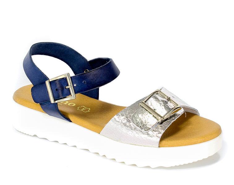 Sandały letnie Verano 5058 Marino Plata