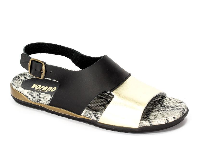 Sandały letnie Verano 17286 Champang Negro