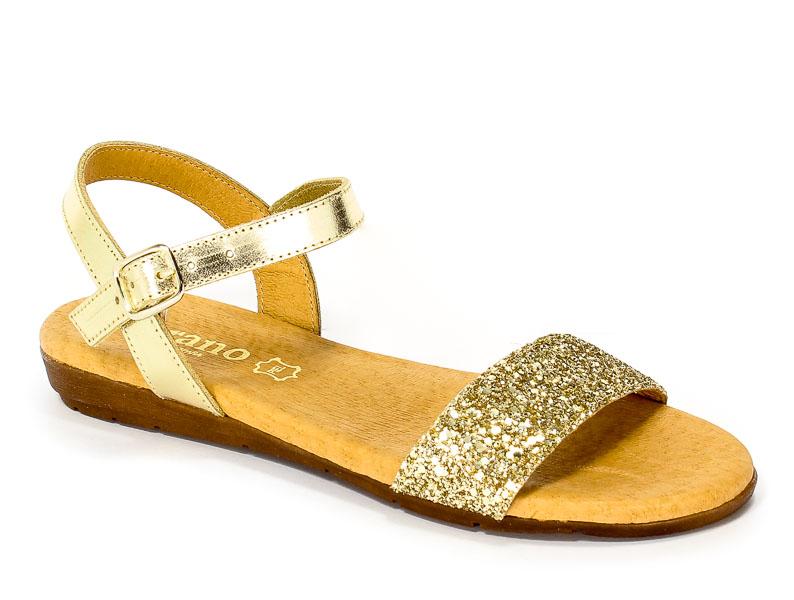 Sandały letnie Verano 7190 Oro GL. Oro