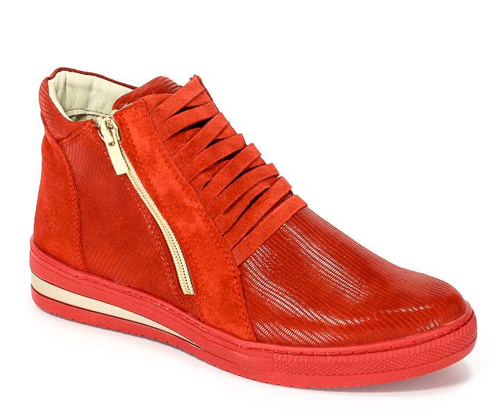 Sneakersy Dolce Pietro 1028-017-01-1 Czerwony