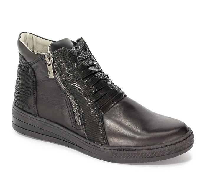 Sneakersy Dolce Pietro 1028-001-01-1 Czarny