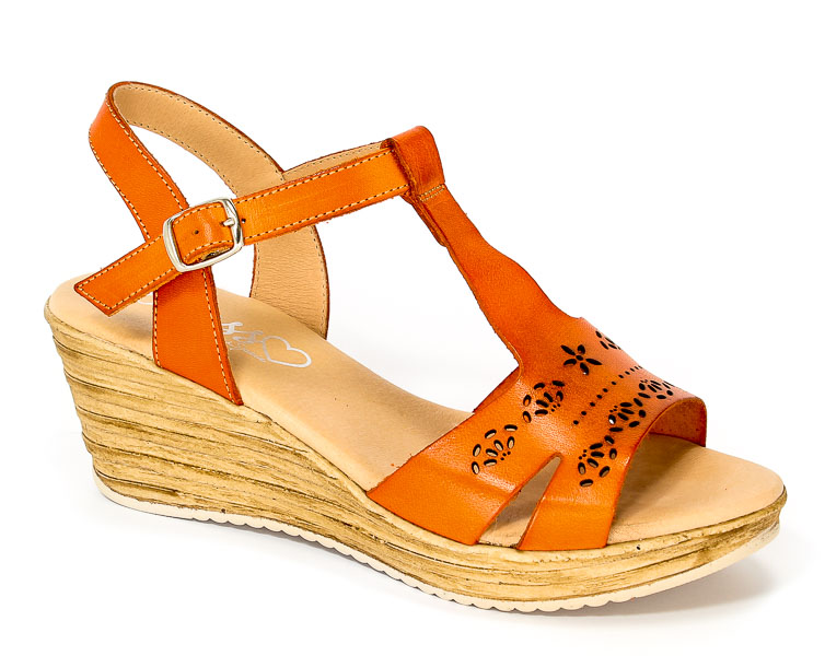 Sandały Letnie Presso 13-5069 Naranja