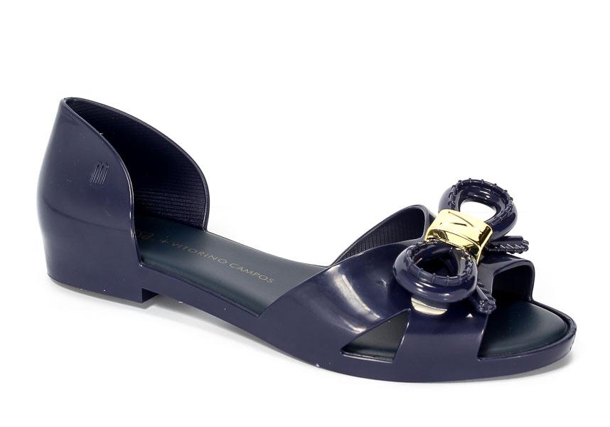 Baleriny letnie Melissa M31851-01682 Navy blue