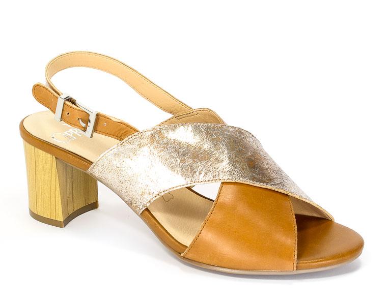 Sandały letnie Caprice 9-28313-38 329 Nut multi