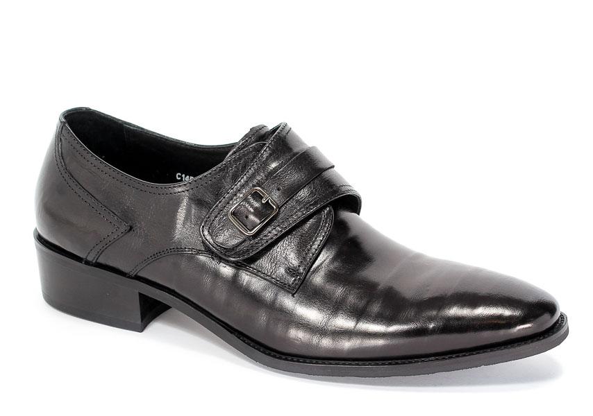 Półbuty Brooman C145-501-2 Black