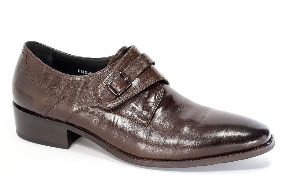 Półbuty Brooman C145-501-1 Brown