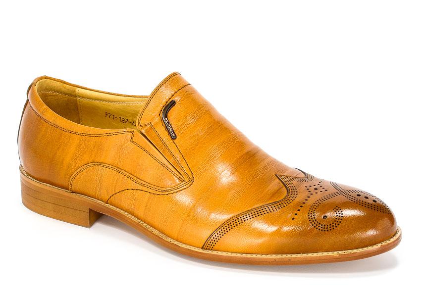 Półbuty Brooman F71-127-A701 Khaki