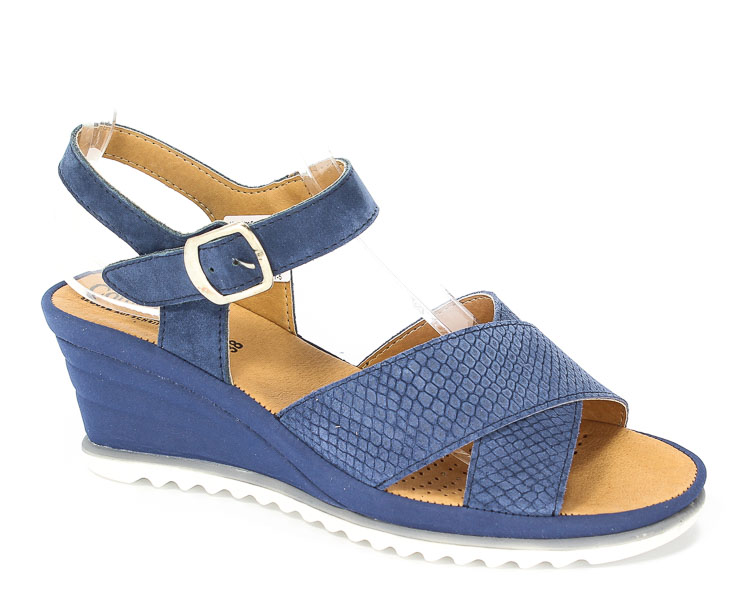 Sandały Letnie Comfortabel 710827 Blau