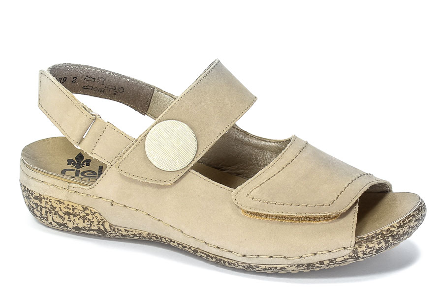 Sandały Rieker V7272-42 Grey 2