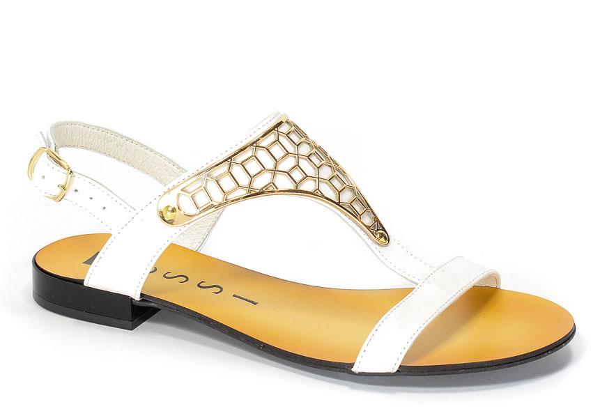 Sandały Nessi 17185 Biały 3