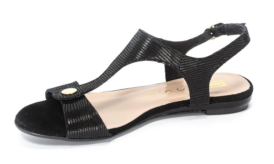 Sandały Nessi 17187 Czarne