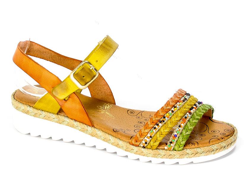 Sandały Presso 10-C14002 Multicolor