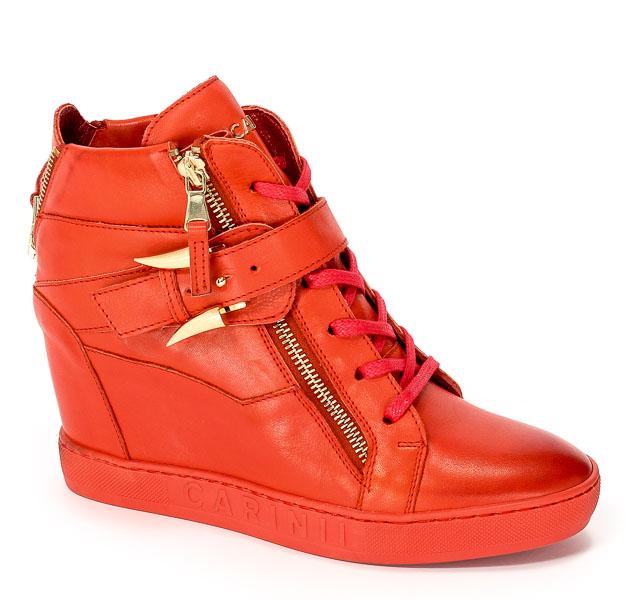 Sneakersy Carinii B3972-H54-000-000-B88 Czerwony
